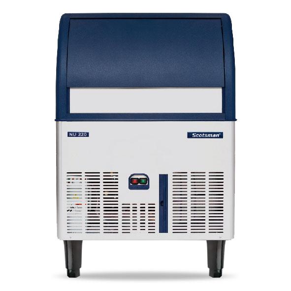 NU 220M-A Underbench Medium Dice Ice Machine